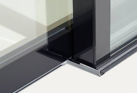 Our lift-and-slide doors keep out the wind & rain