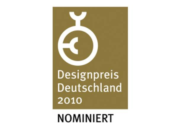Nominierung Deutscher Design Award 2010