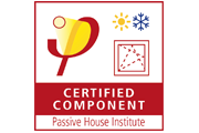 Passivehouse certified compontents