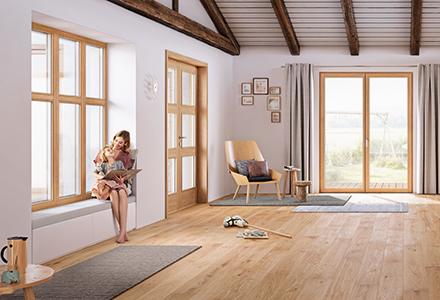 Josko Fenster T 252 Ren Amp Naturholzb 246 Den Mit Weitblick